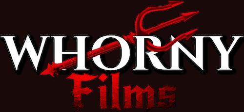 WHORNY FILMS LOGO MAY